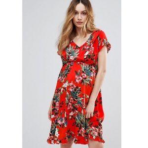 NWT ASOS Mamalicious Nursing Dress